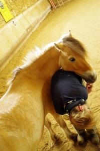 Equiterapie dans l'Yonne Delphine cheval