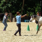Faire a cheval equitherapie groupe